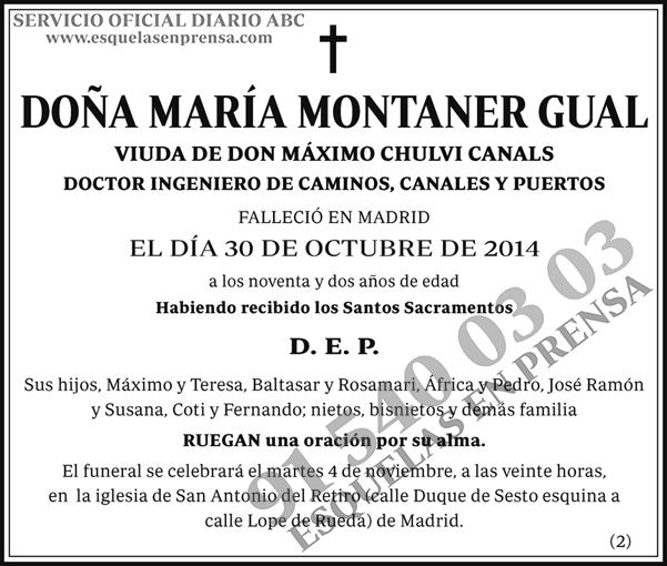 María Montaner Gual